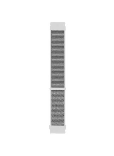 Microsonic Realme Rma207 Watch S Hasırlı Kordon Woven Sport Loop Beyaz Beyaz